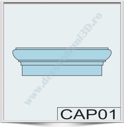 Capete de stalpi CAP01