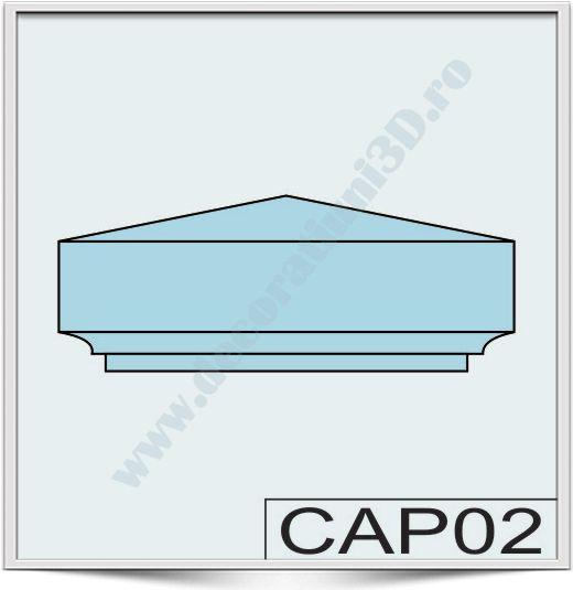 Capete de stalpi CAP02