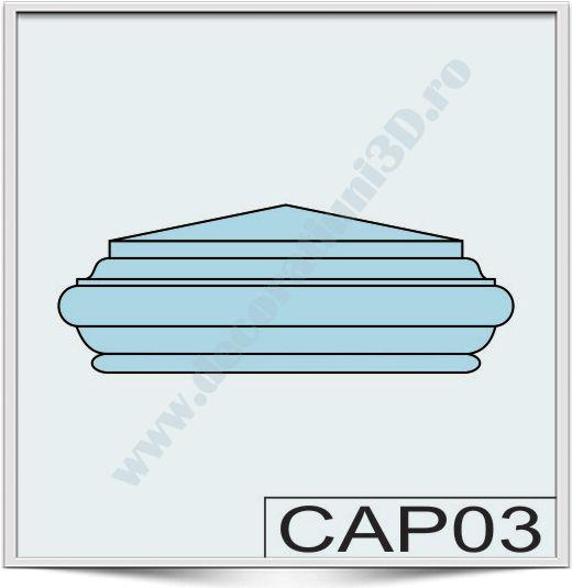 Capete de stalpi CAP03