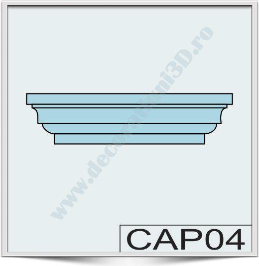 Capete de stalpi CAP04
