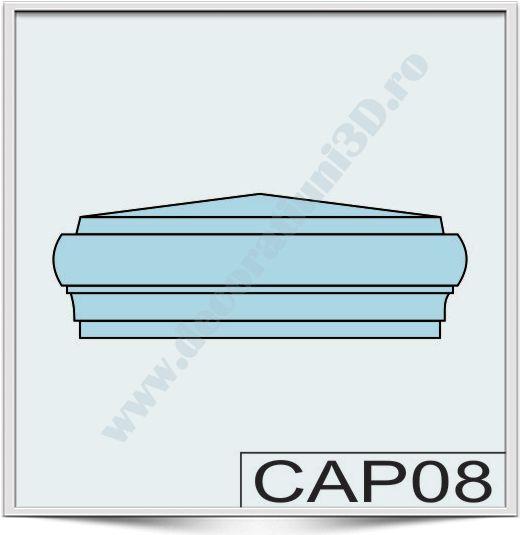 Capete de stalpi CAP08