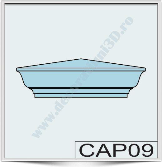 Capete de stalpi CAP09